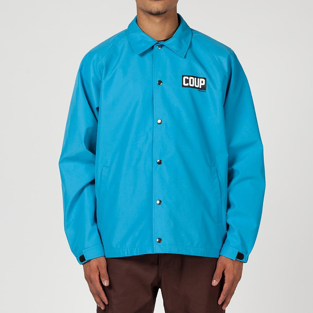 LIBERAIDERS 3LAYER COACH JACKET / BLUE