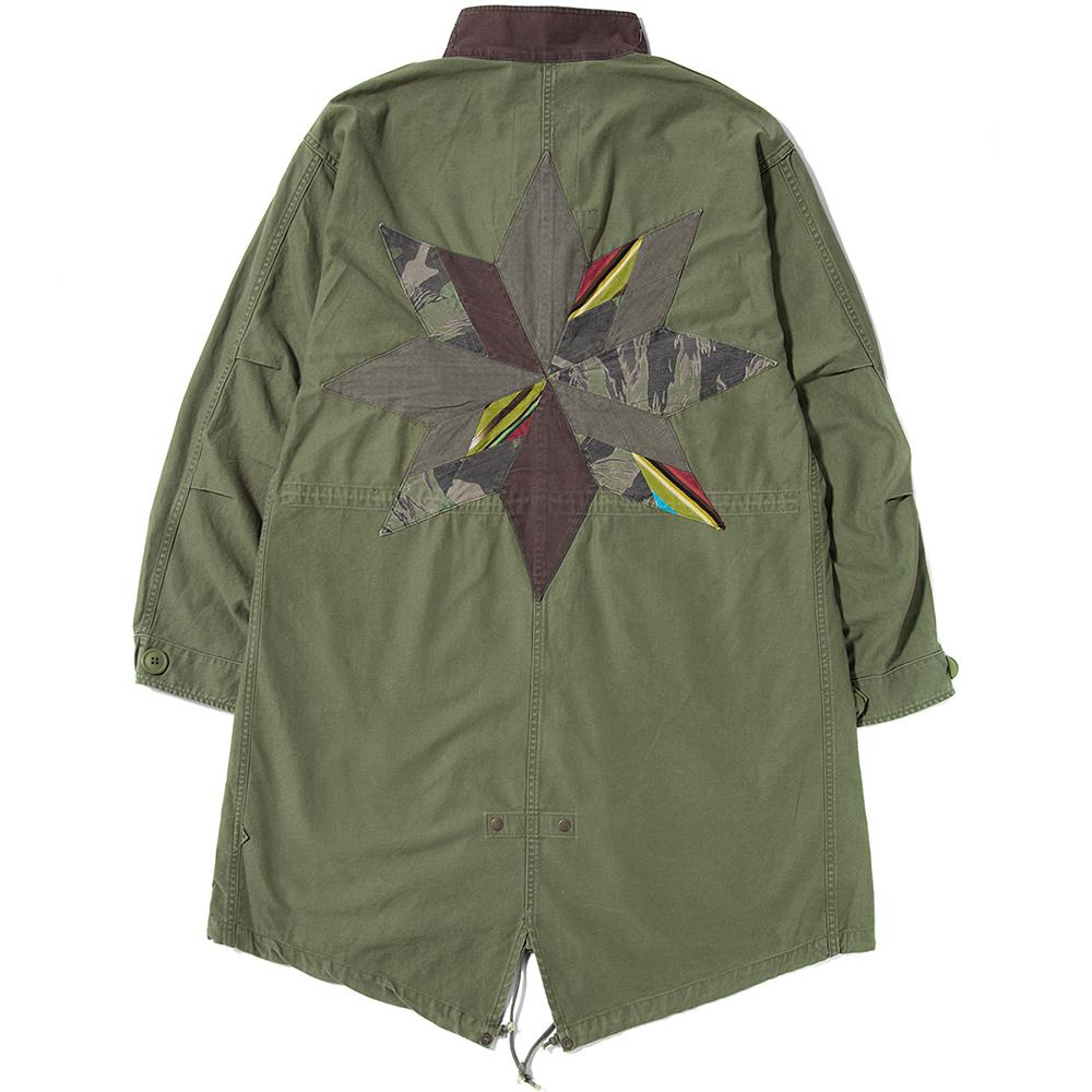 style code 77005. LIBERAIDERS M65 JACKET / OLIVE