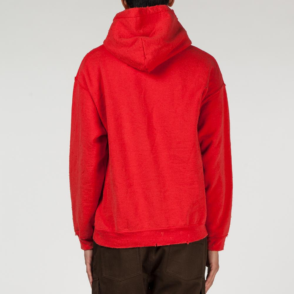 LIBERAIDERS SECRET PULLOVER HOODY / RED