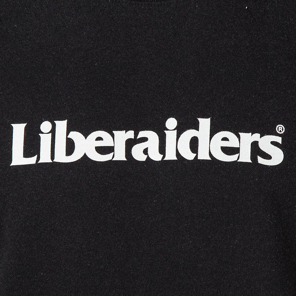 LIBERAIDERS LOGO T-SHIRT / BLACK