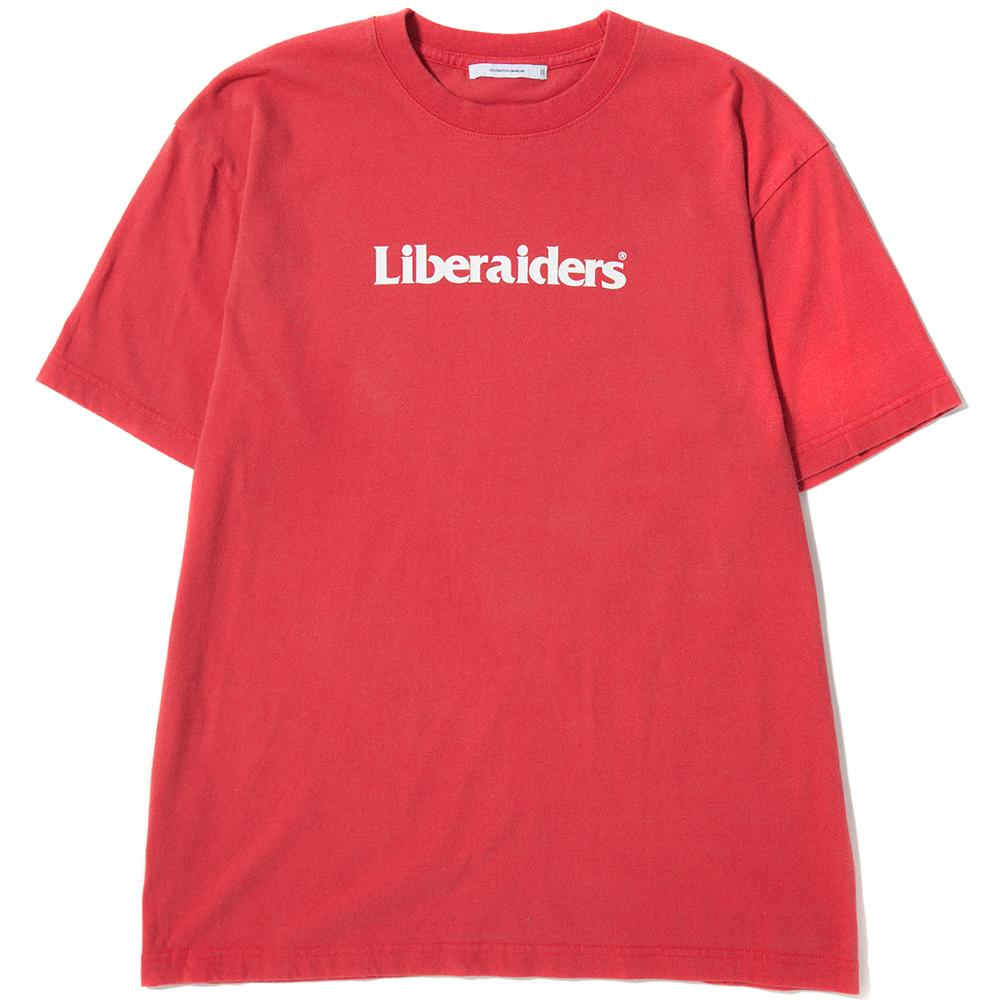 style code 77601RED. LIBERAIDERS LOGO T-SHIRT / RED