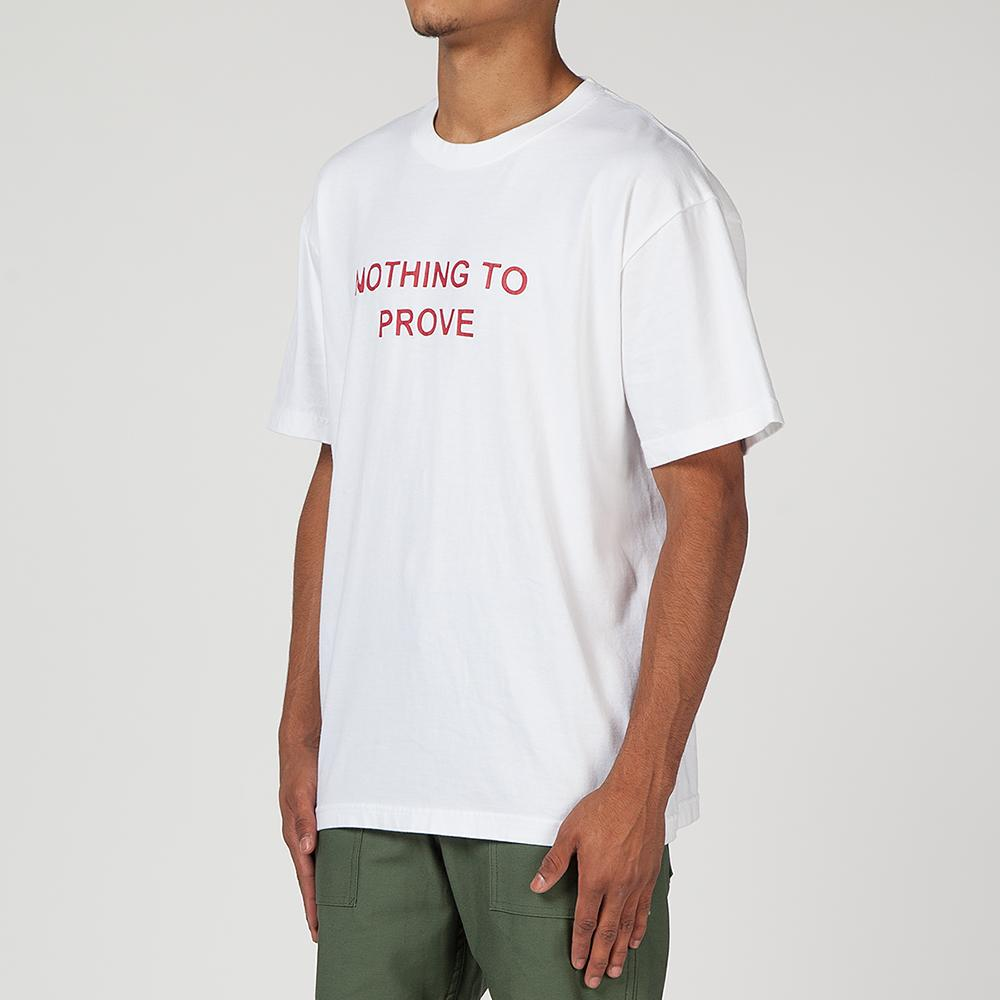 LIBERAIDERS NOTHING TO PROVE T-SHIRT / WHITE