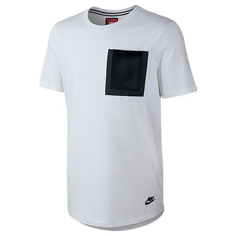 NIKE TECH HYPERMESH POCKET T-SHIRT / WHITE - 1