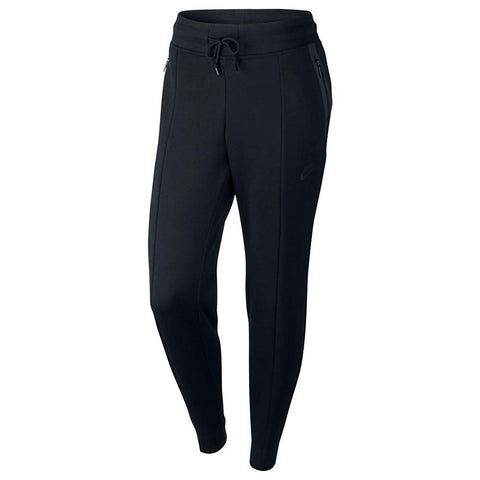 NIKE WOMEN'S SPORTSWEAR TECH FLEECE PANT / BLACK - 1