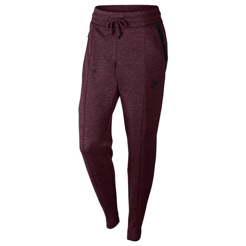NIKE WOMENS SPORTSWEAR TECH FLEECE PANT / NIGHT MAROON - 1