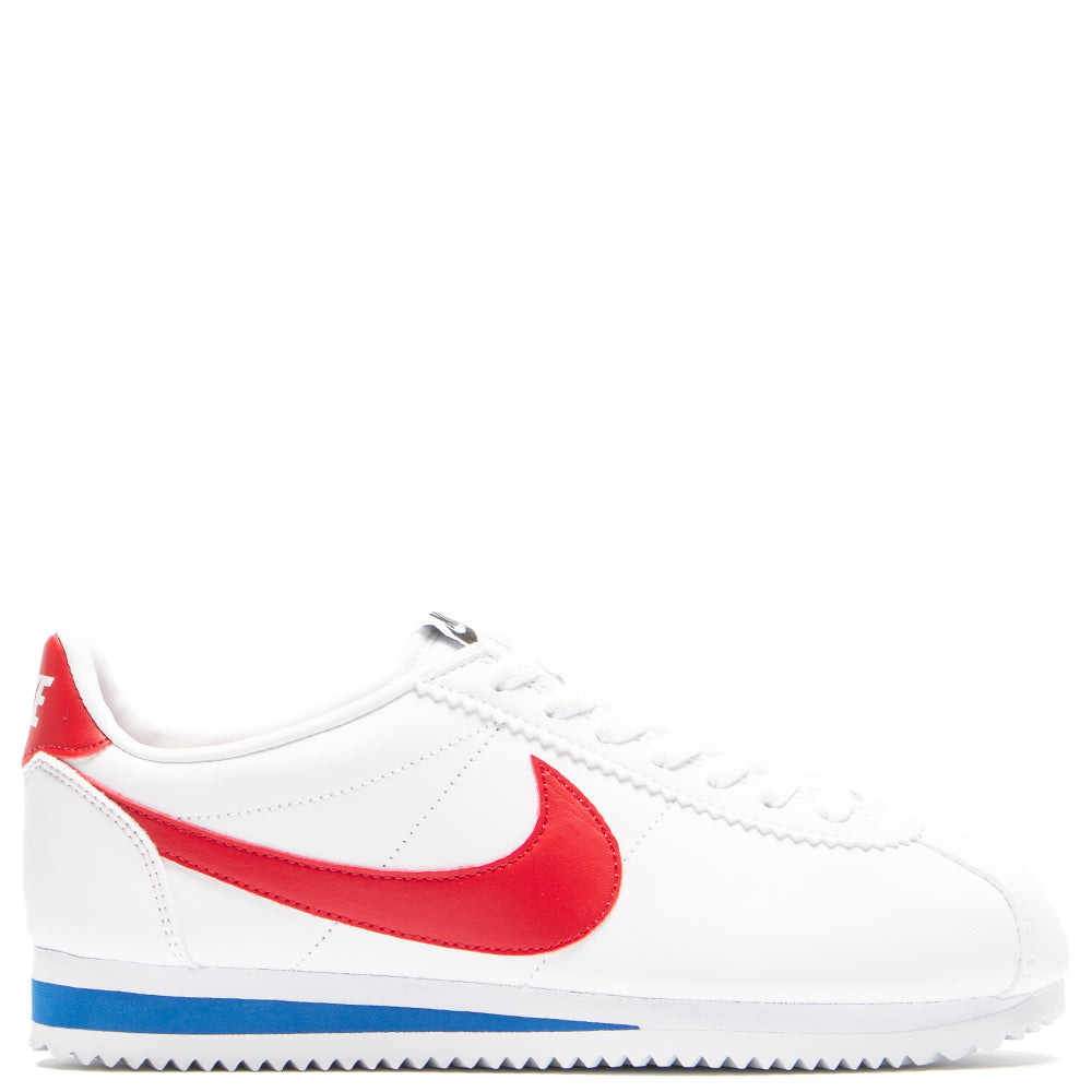 best service d1f79 81a11 italy nike womens classic cortez white varsity red 05eab 7a2d2