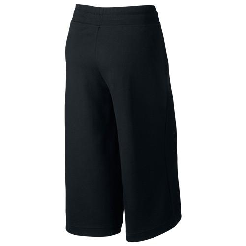 NIKE WOMEN'S SPORTSWEAR TECH FLEECE CAPRI / BLACK - 2