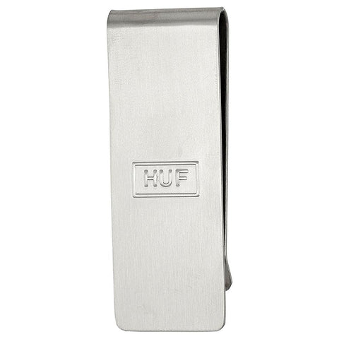 HUF MONEY CLIP / SILVER
