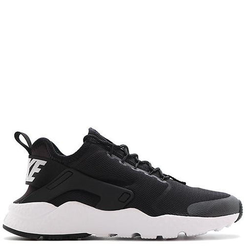 NIKE WOMEN'S AIR HUARACHE RUN ULTRA BLACK / WHITE - 1