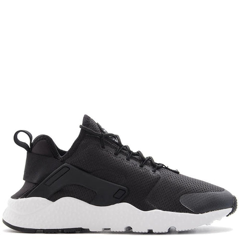 NIKE WOMEN'S AIR HUARACHE RUN ULTRA BLACK / BLACK