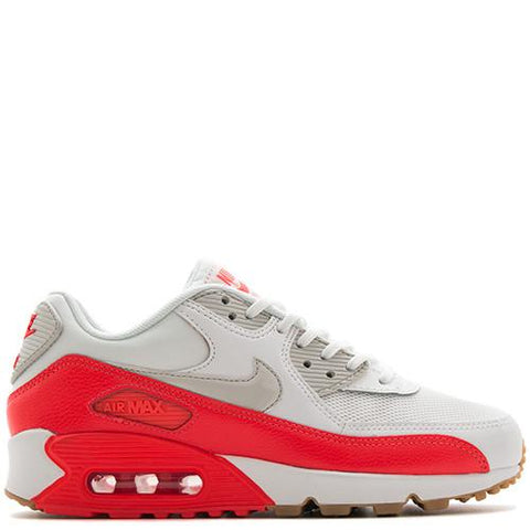 NIKE WOMEN'S AIR MAX 90 ESSENTIAL / SUMMIT WHITE . style code  616730-113