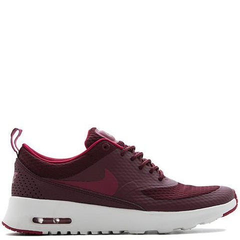 NIKE WOMEN'S AIR MAX THEA TEXTILE / NIGHT MAROON . style code  819639-600