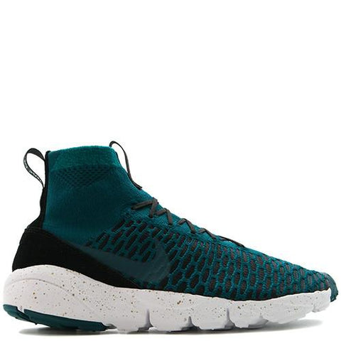 NIKE AIR FOOTSCAPE MAGISTA FLYKNIT FC / MIDNIGHT TURQUOISE - 1