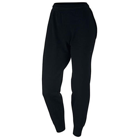 NIKE WOMEN'S SPORTSWEAR TECH KNIT PANT / BLACK - 1