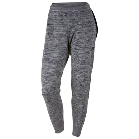 NIKE WOMEN'S SPORTSWEAR TECH KNIT PANT / CARBON HEATHER - 1