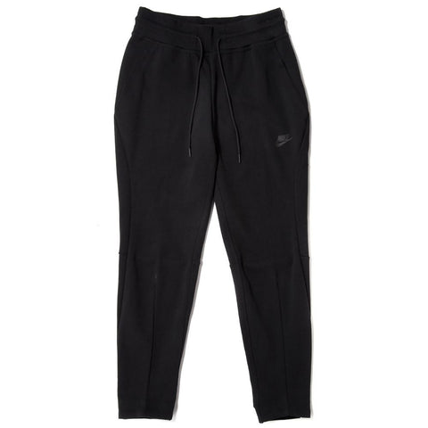 NIKE WOMEN'S SPORTSWEAR TECH FLEECE PANT / BLACK