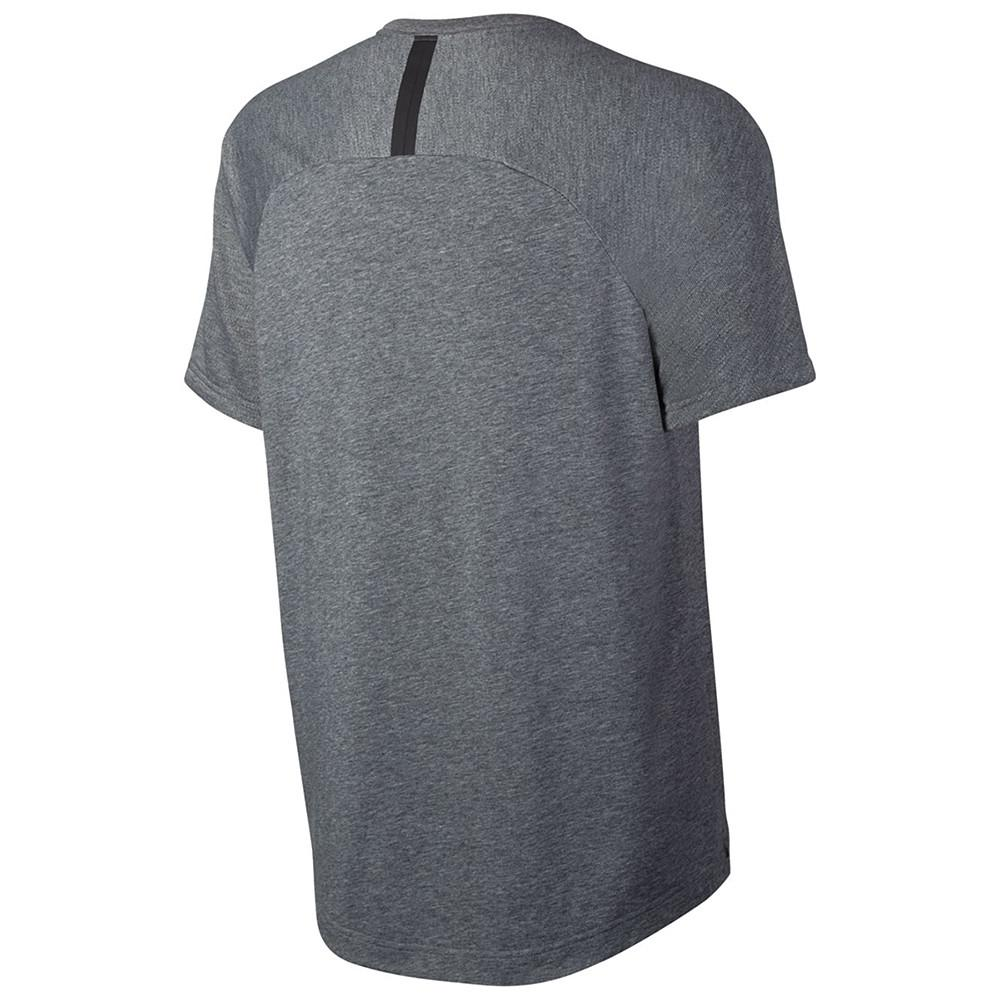 NIKE SPORTSWEAR BONDED TOP / CARBON HEATHER