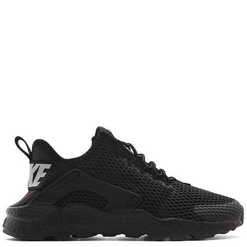 NIKE WOMEN'S AIR HUARACHE RUN ULTRA BR / BLACK - 1
