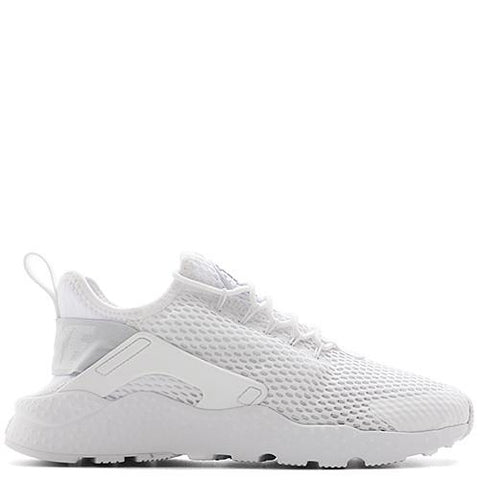 NIKE WOMEN'S AIR HUARACHE RUN ULTRA BR / WHITE - 1
