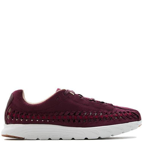 NIKE WOMEN'S MAYFLY WOVEN / NIGHT MAROON - 1