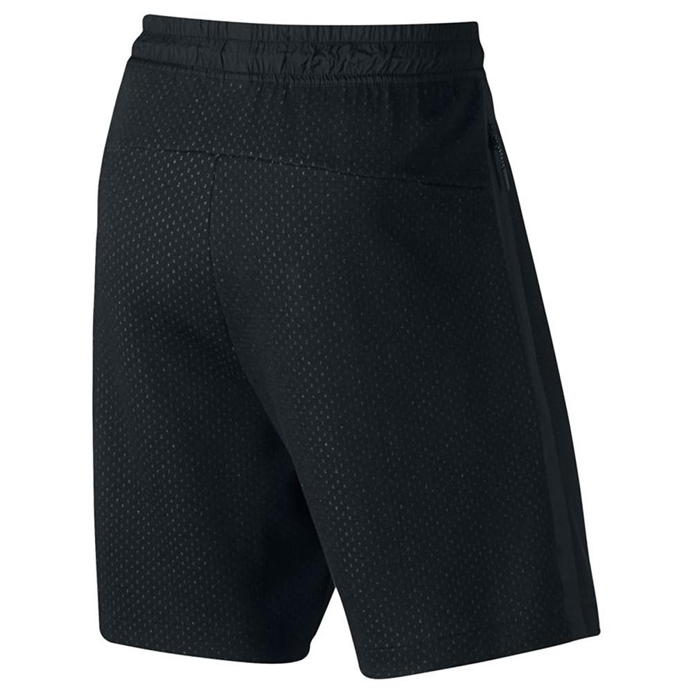 style code 833935-010. NIKE SPORTSWEAR TECH FLEECE SHORT / BLACK