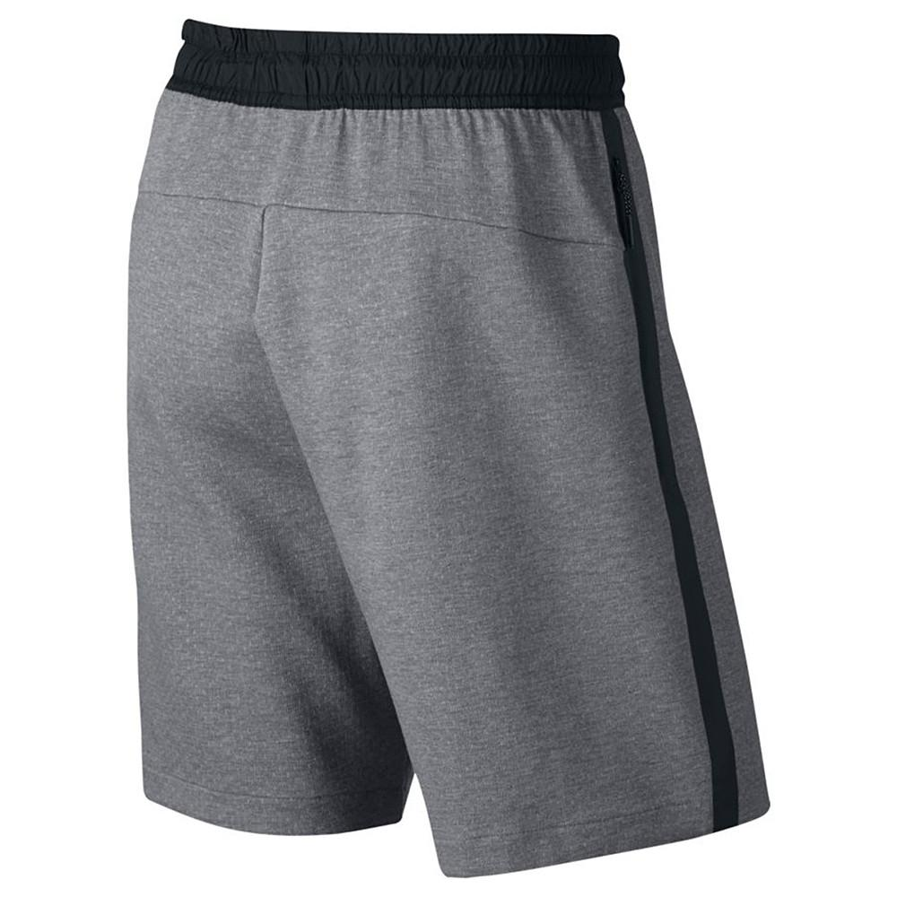 style code 833935-091. NIKE SPORTSWEAR TECH FLEECE SHORT / CARBON HEATHER
