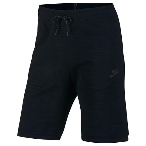 NIKE SPORTSWEAR TECH KNIT SHORT / BLACK