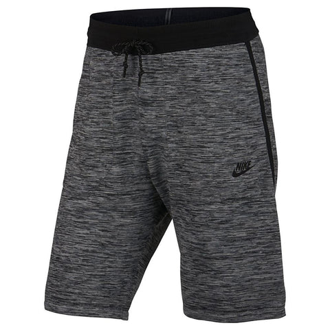 NIKE SPORTSWEAR TECH KNIT SHORT / CARBON HEATHER