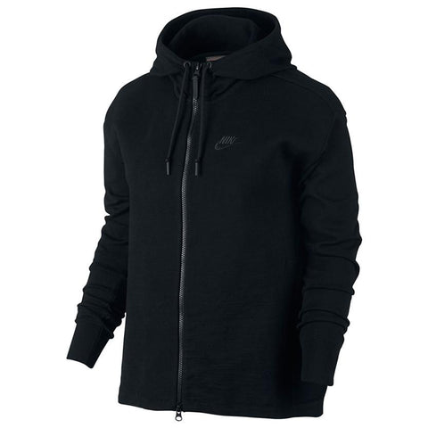 NIKE WOMEN'S TECH KNIT JACKET / BLACK - 1