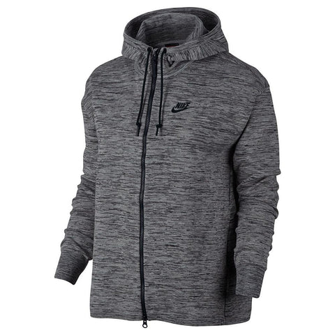 NIKE WOMEN'S TECH KNIT JACKET / CARBON HEATHER