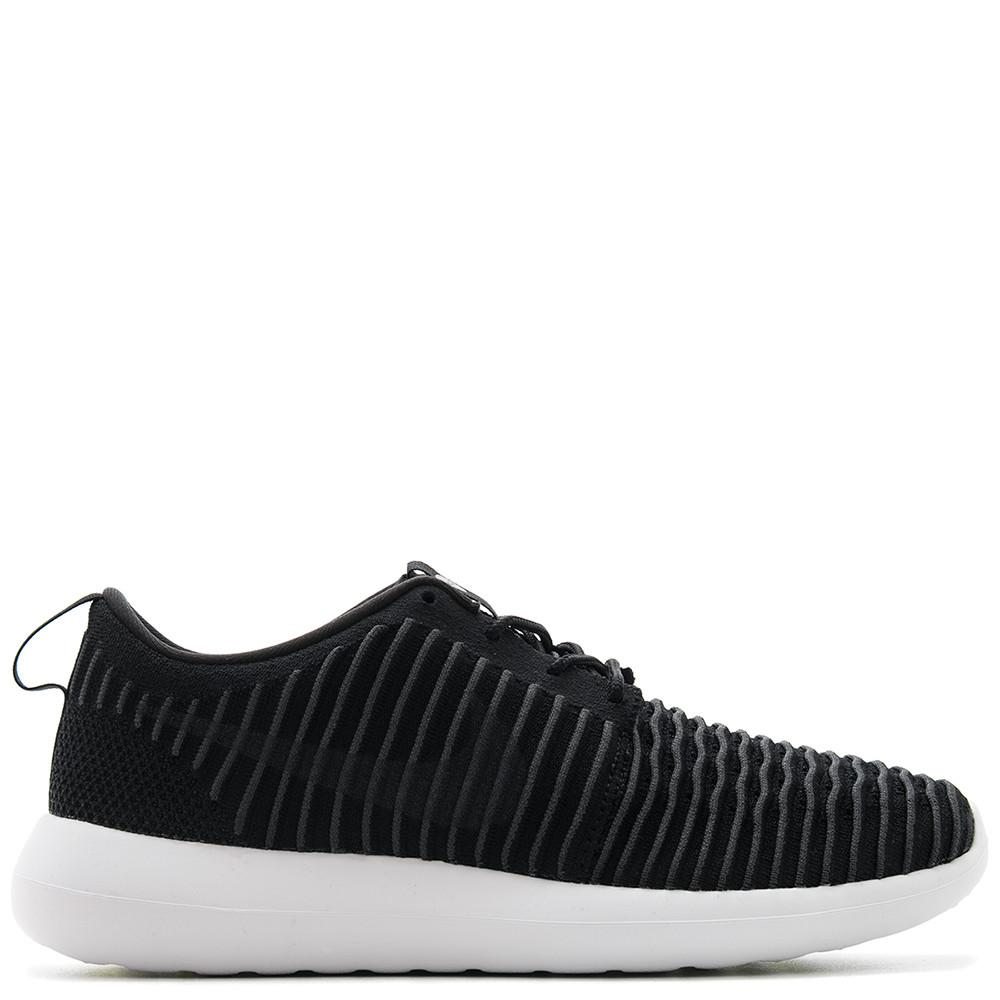 NIKE ROSHE TWO FLYKNIT BLACK / DARK GREY - 1
