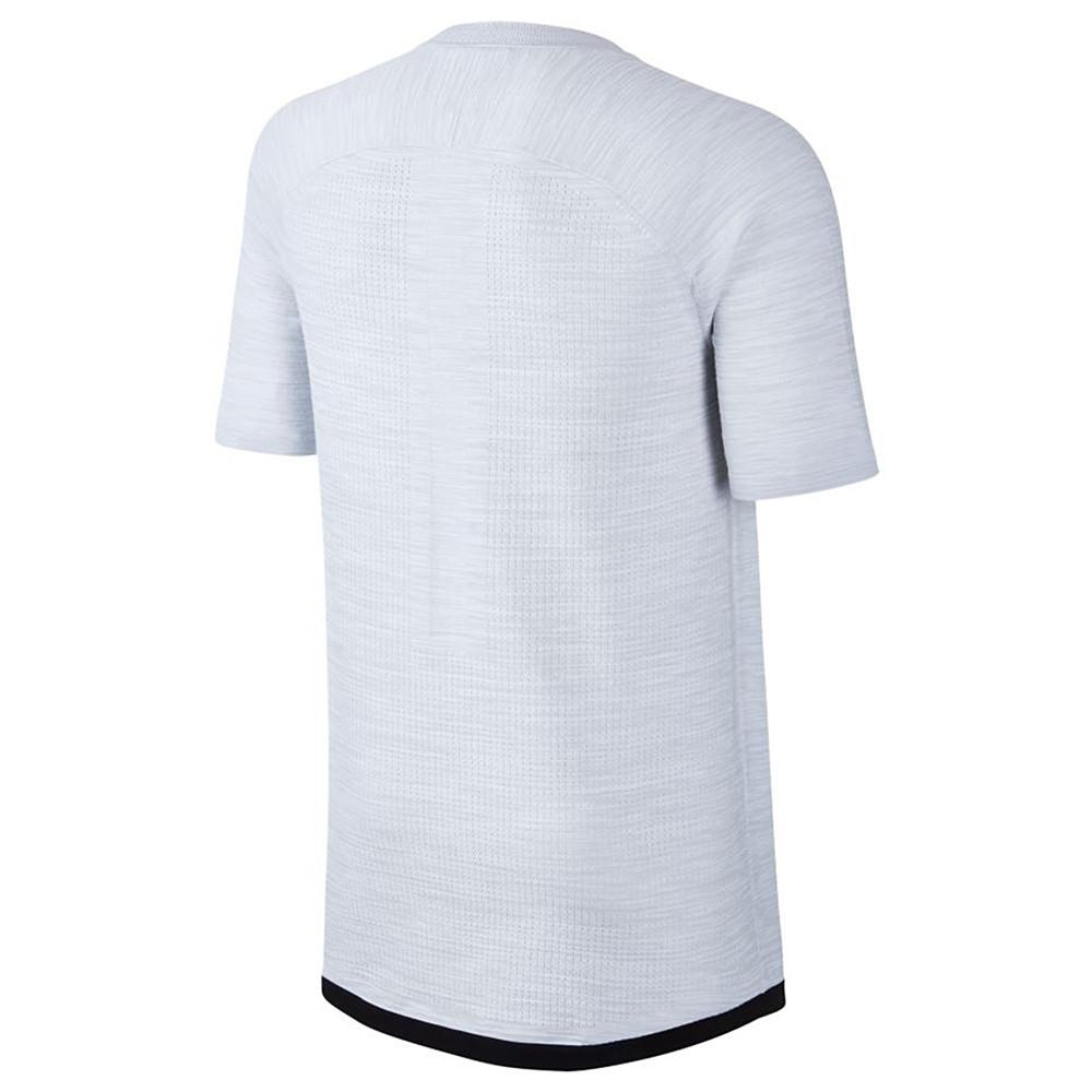 NIKE SPORTSWEAR TECH KNIT POLO WHITE / PURE PLATINUM