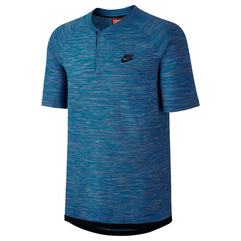 NIKE SPORTSWEAR TECH KNIT POLO / INDUSTRIAL BLUE