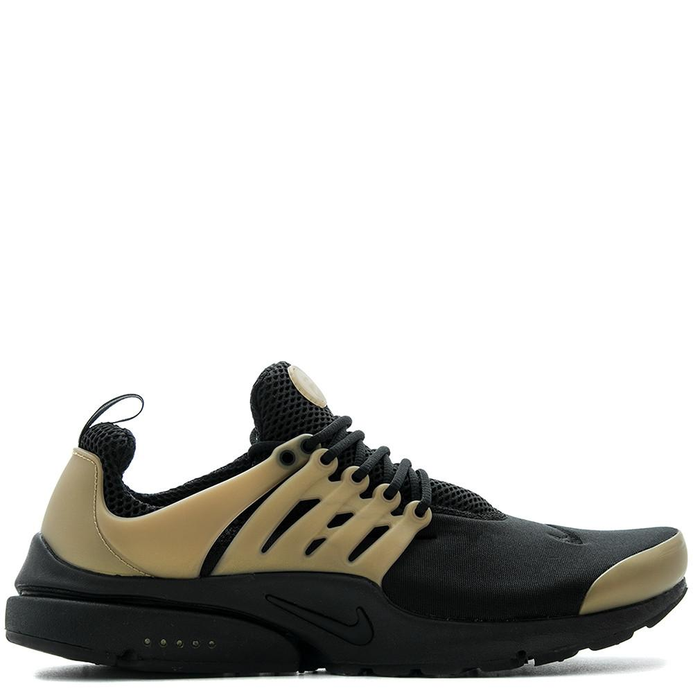 NIKE AIR PRESTO ESSENTIAL BLACK / METALLIC GOLD . 848187-007