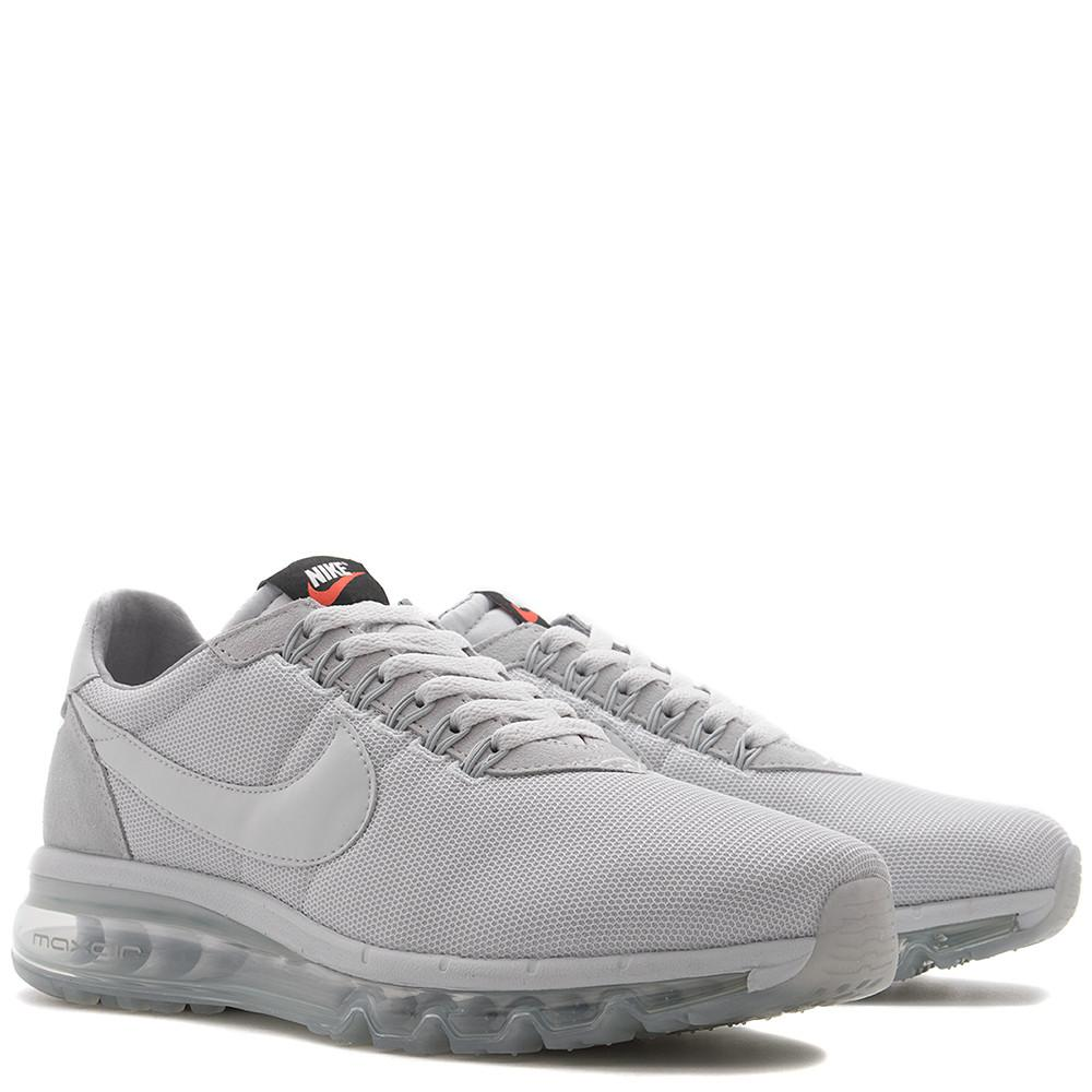NIKE AIR MAX LD ZERO / PURE PLATINUM. 848624-004. Max Air unit, Flywire lacing. Suede / mesh