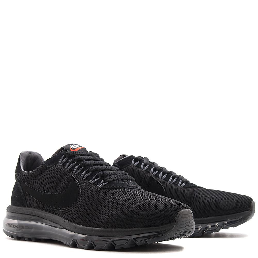 NIKE AIR MAX LD ZERO / black. 848624-005. Max Air unit, Flywire lacing. Suede / mesh