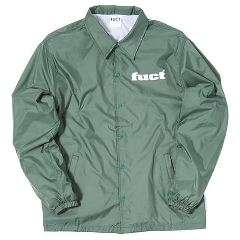 FUCT SSDD USE ONCE WINDBREAKER / GREEN - 1