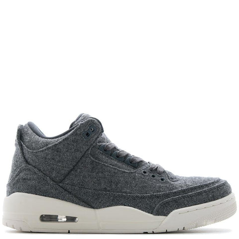 JORDAN 3 RETRO WOOL / DARK GREY - 1