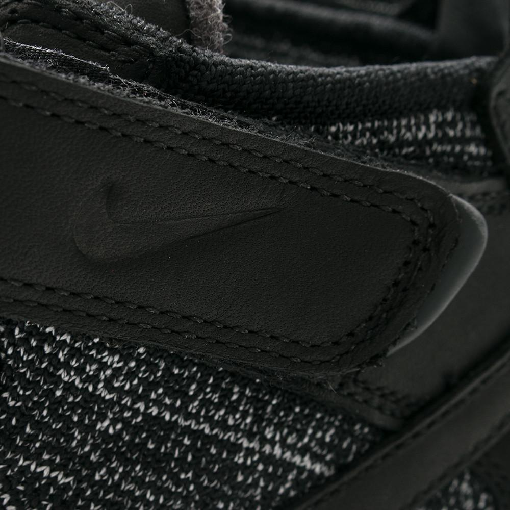 NIKE LUNAR FORCE 1 FLYKNIT WORKBOOT BLACK / WHITE . Style code: 855984-001