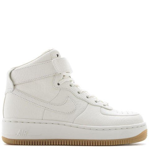 NIKE WOMEN'S QS AIR FORCE 1 UPSTEP HIGH PINNACLE / SAIL - 1