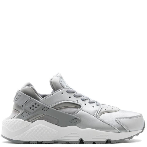 NIKE WOMENS AIR HUARACHE RUN SE / METALLIC SILVER - 1