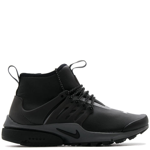 NIKE WOMENS AIR PRESTO MID-TOP UTILITY / BLACK - 1