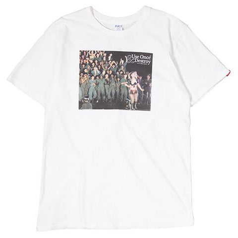 FUCT SSDD TINY DANCER T-SHIRT / WHITE - 1
