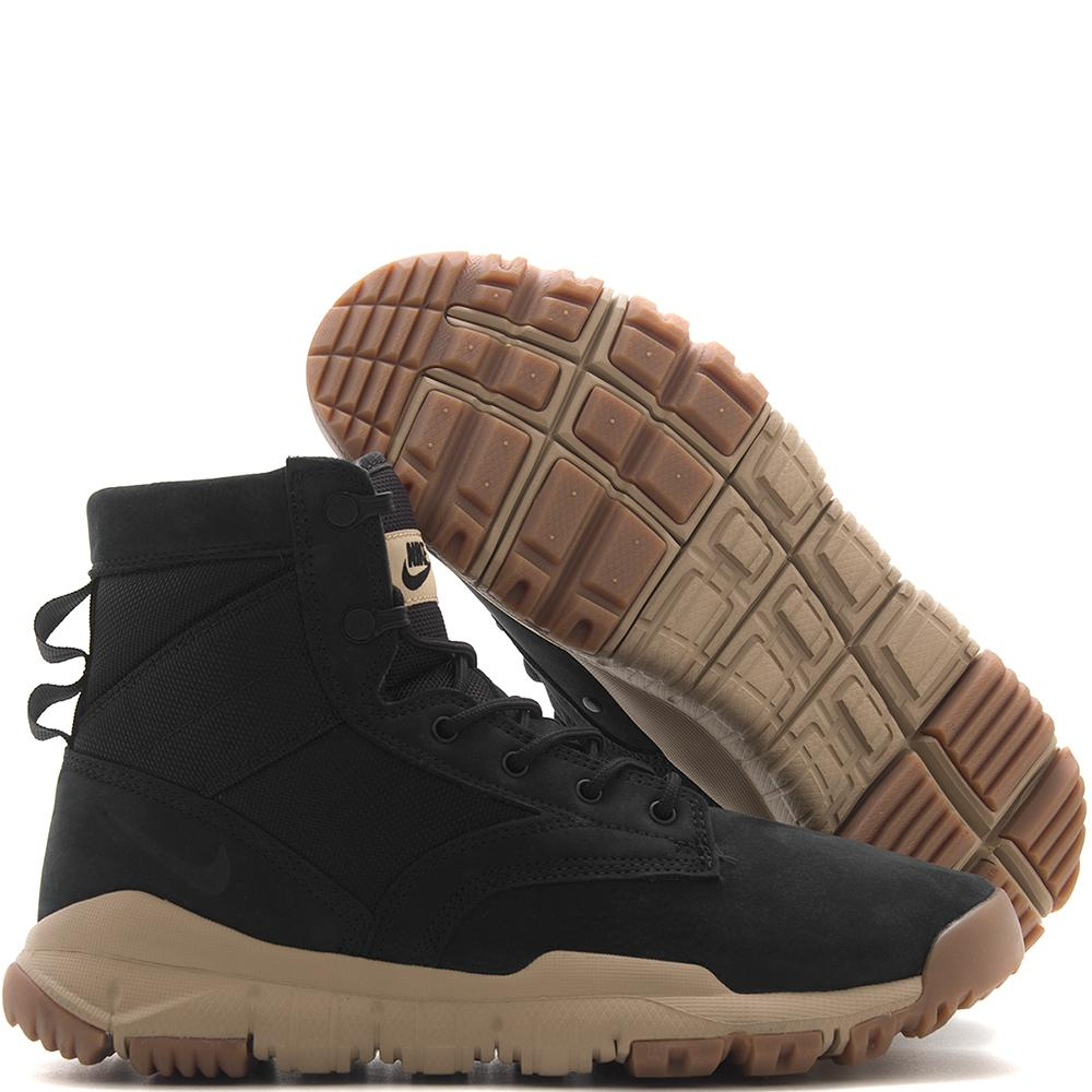 "NIKE SFB 6"" NSW LEATHER BOOT / BLACK"