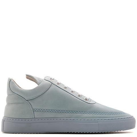 FILLING PIECES LOW TOP ZIPPER / BABY BLUE - 1