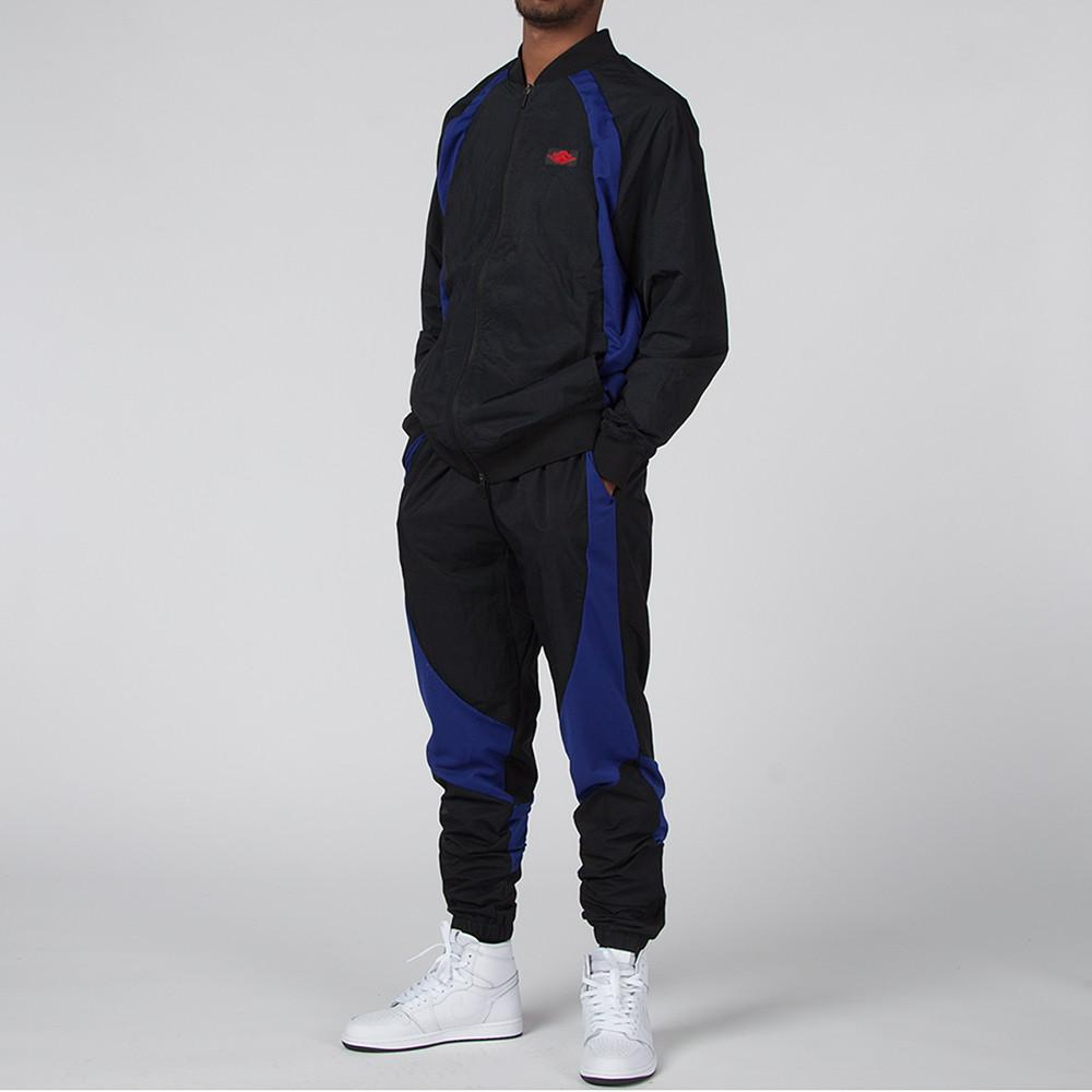 JORDAN 1 TIER ZERO WINGS JACKET BLACK / DEEP ROYAL BLUE
