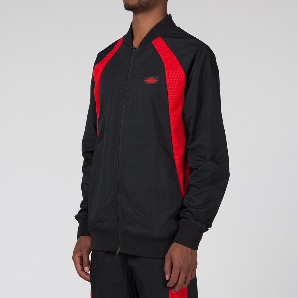 JORDAN 1 TIER ZERO WINGS JACKET BLACK / UNIVERSITY RED