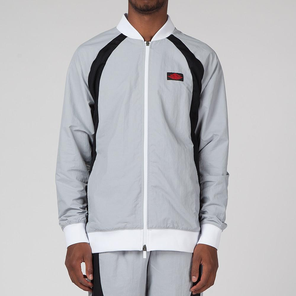 JORDAN 1 TIER ZERO WINGS JACKET WOLF GREY / BLACK