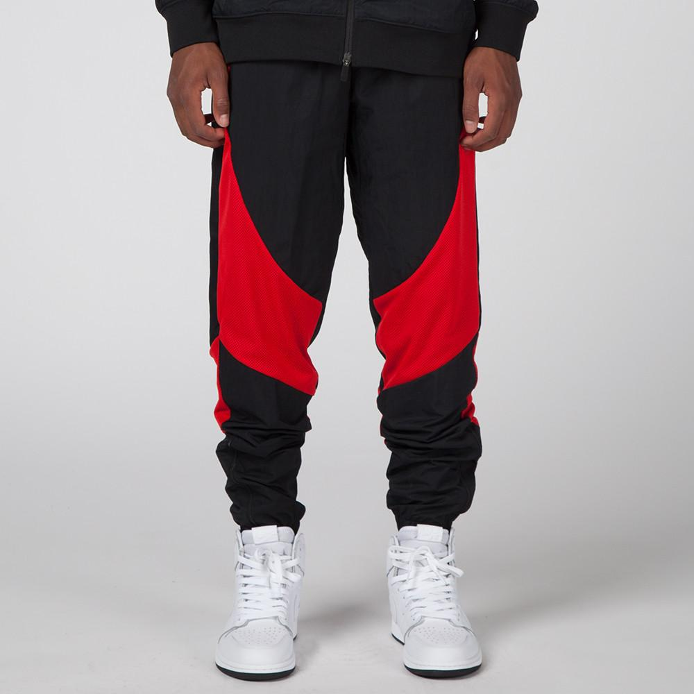 JORDAN 1 TIER ZERO WINGS PANT BLACK / UNIVERSITY RED