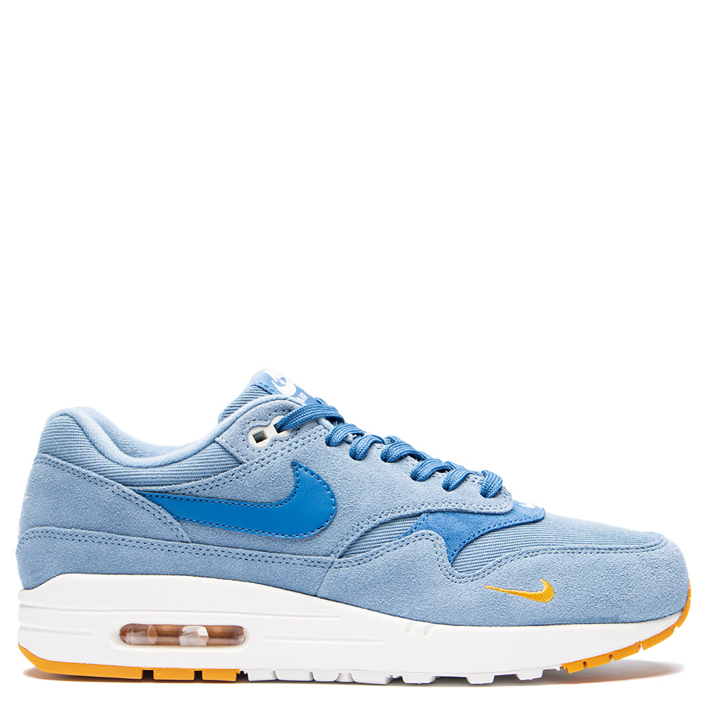 Style code 875844-404. Nike Air Max 1 Premium / Work Blue